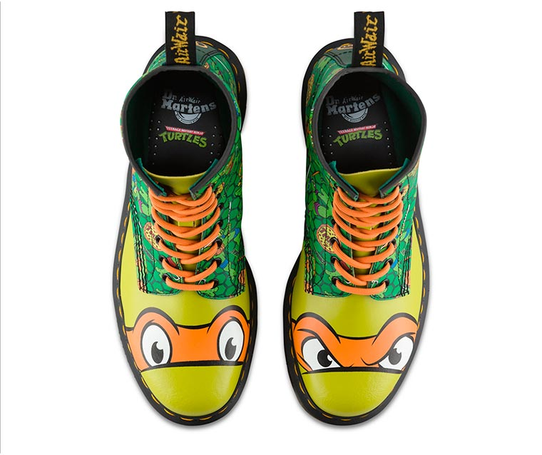 Dr. Martens x TMNT - A nice collaboration in tribute to the Ninja Turtles