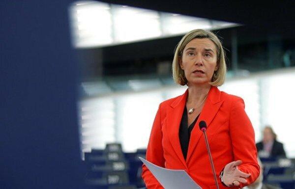 Евросоюз, Сербия, Могерини