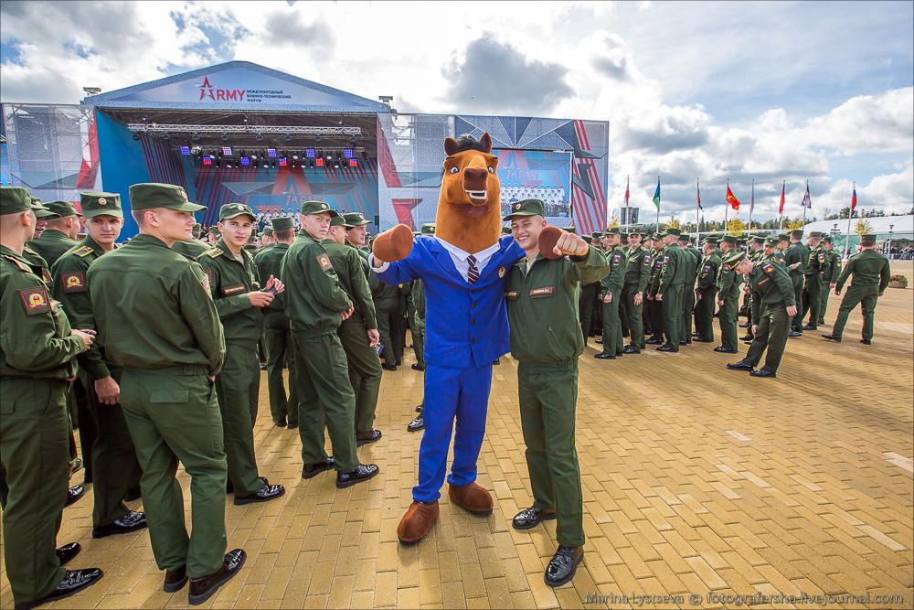 Армия-2016, день первый
