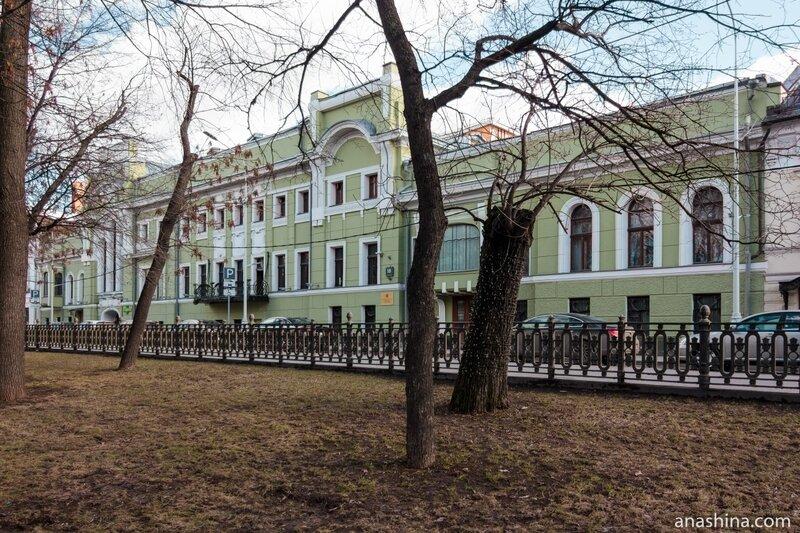 Дом Смирнова на Тверском бульваре