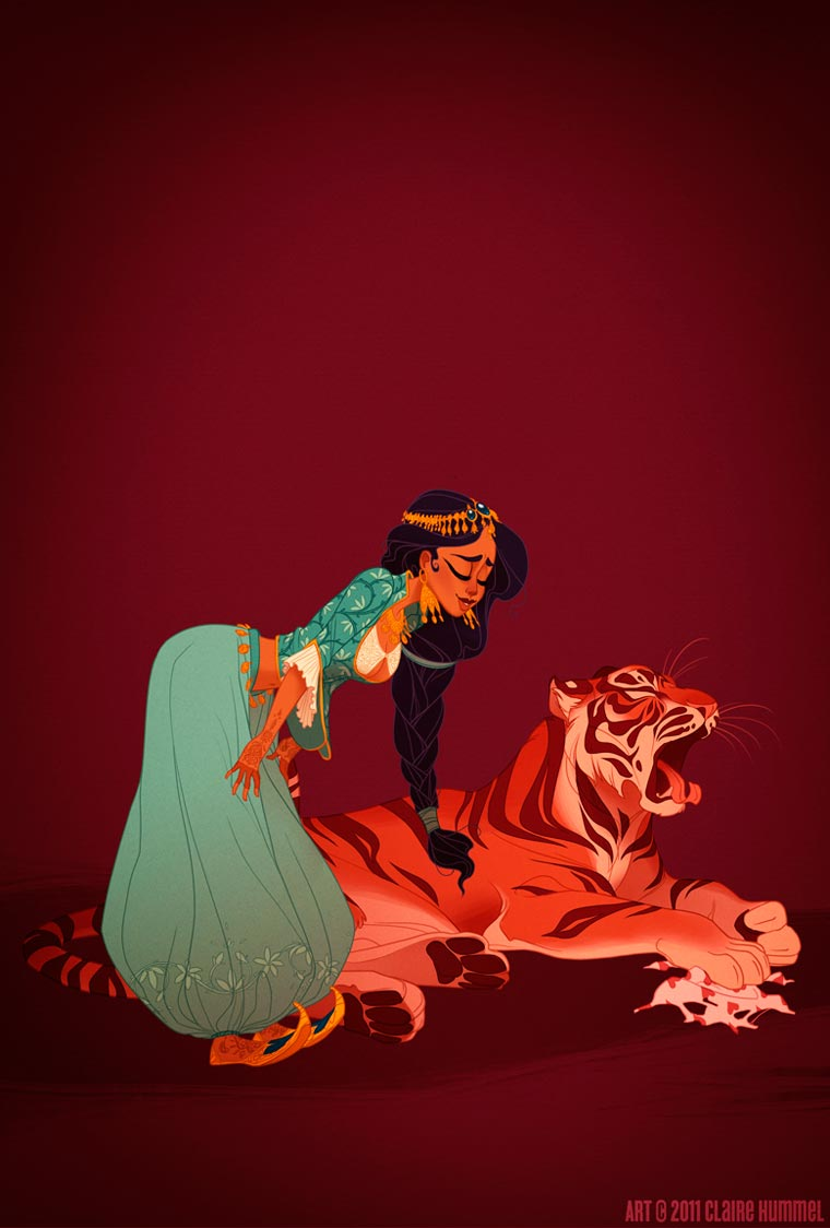 If the dresses of the Disney princesses were historically accurate