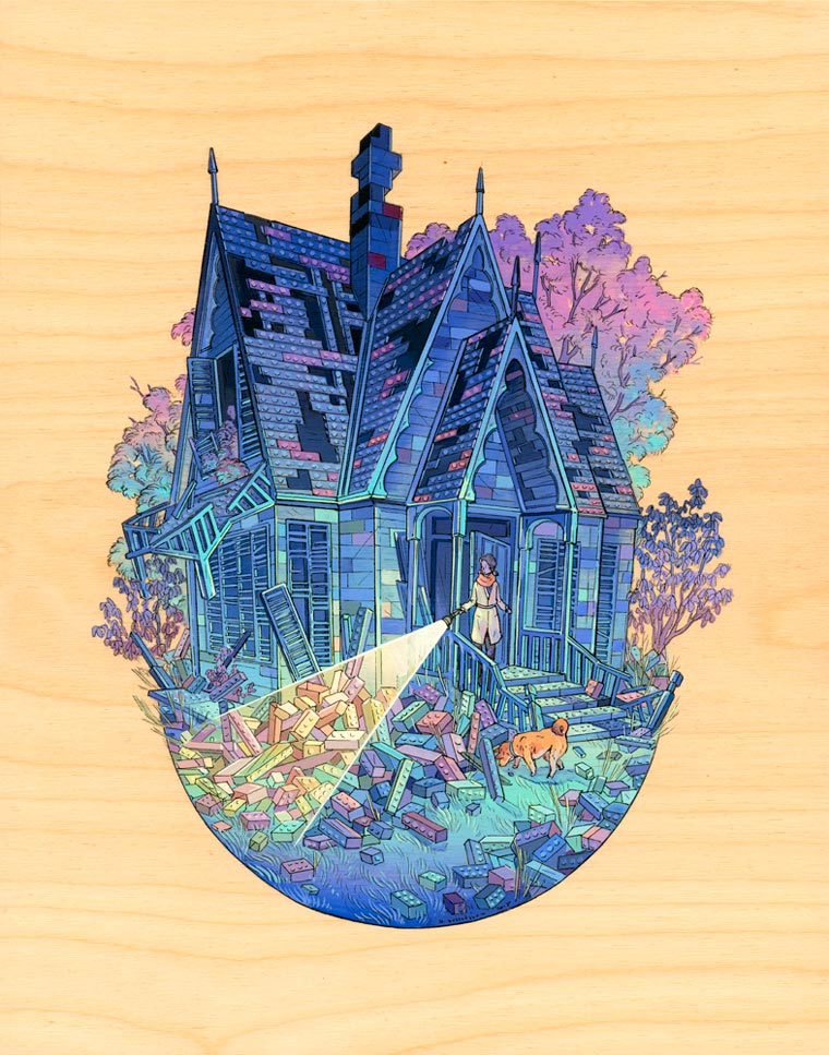 Celestial Spaces - Les mondes fantastiques de Nicole Gustafsson