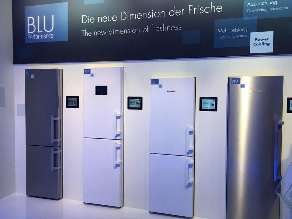 Liebherr BluPerfomance холодильники выставка электроники - шоурум