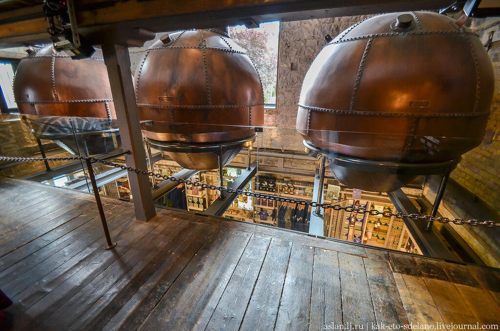Как раньше выглядели перегонные кубы для производства ирландского виски