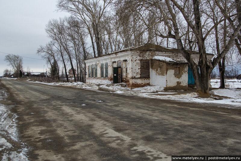 сельский магазин в селе Троицкое