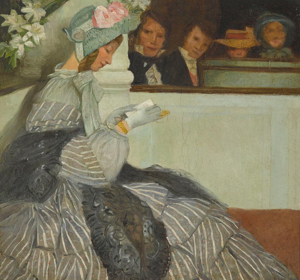 Alexander von Salzmann - Lesende Biedermeier-Dame.jpg