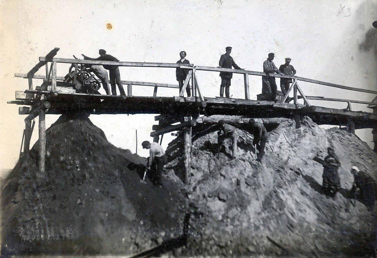 1928. Бункер и отвальный эстакад шахты №39