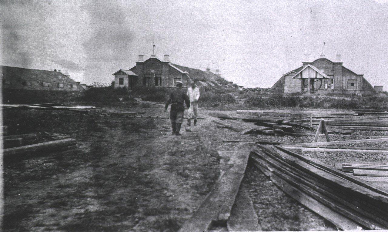 Покрытые дерном дома