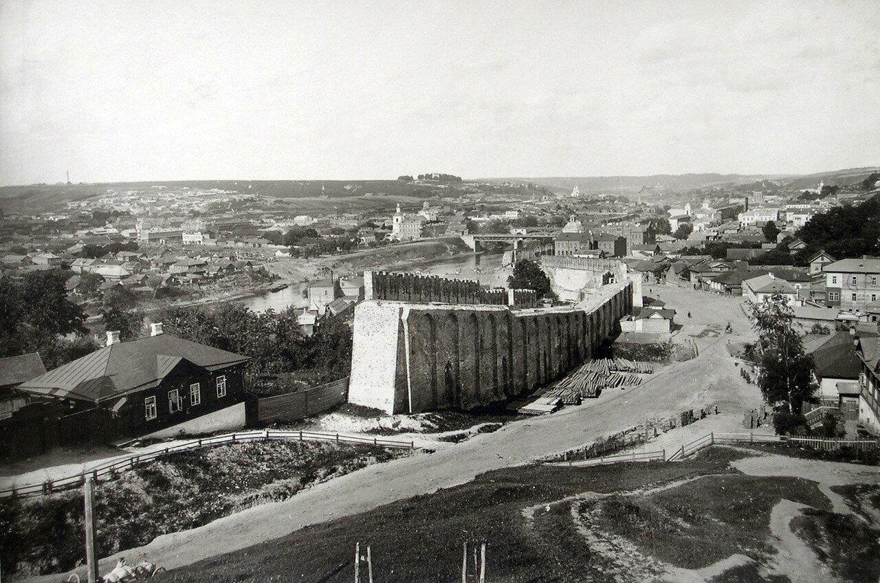 Вид города с Казанской горы. 1902