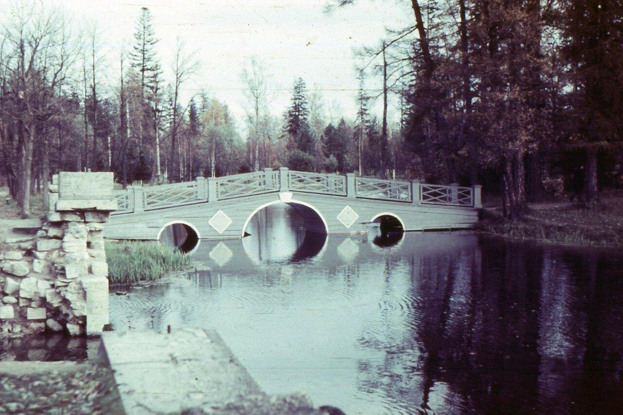 1970. Мост на Пихтовый остров