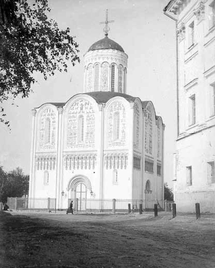 Дмитриевский собор. Вид с юго-запада