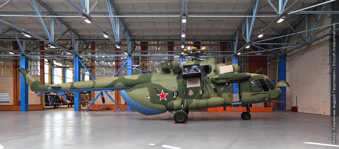 вертолетный завод как делают Ми-17