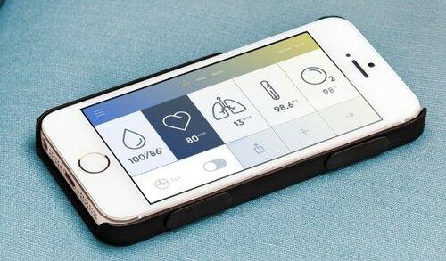 Новый гаджет - смартфон со встроенным термометром