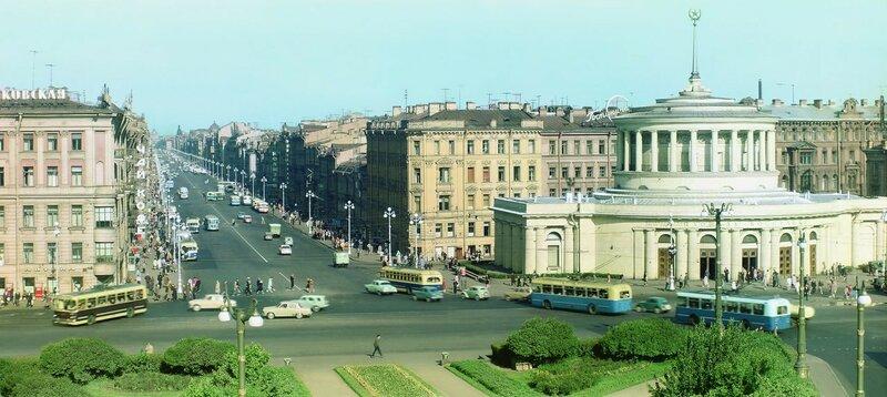 1961-63 Площадь Восстания. Илья Голанд.jpg