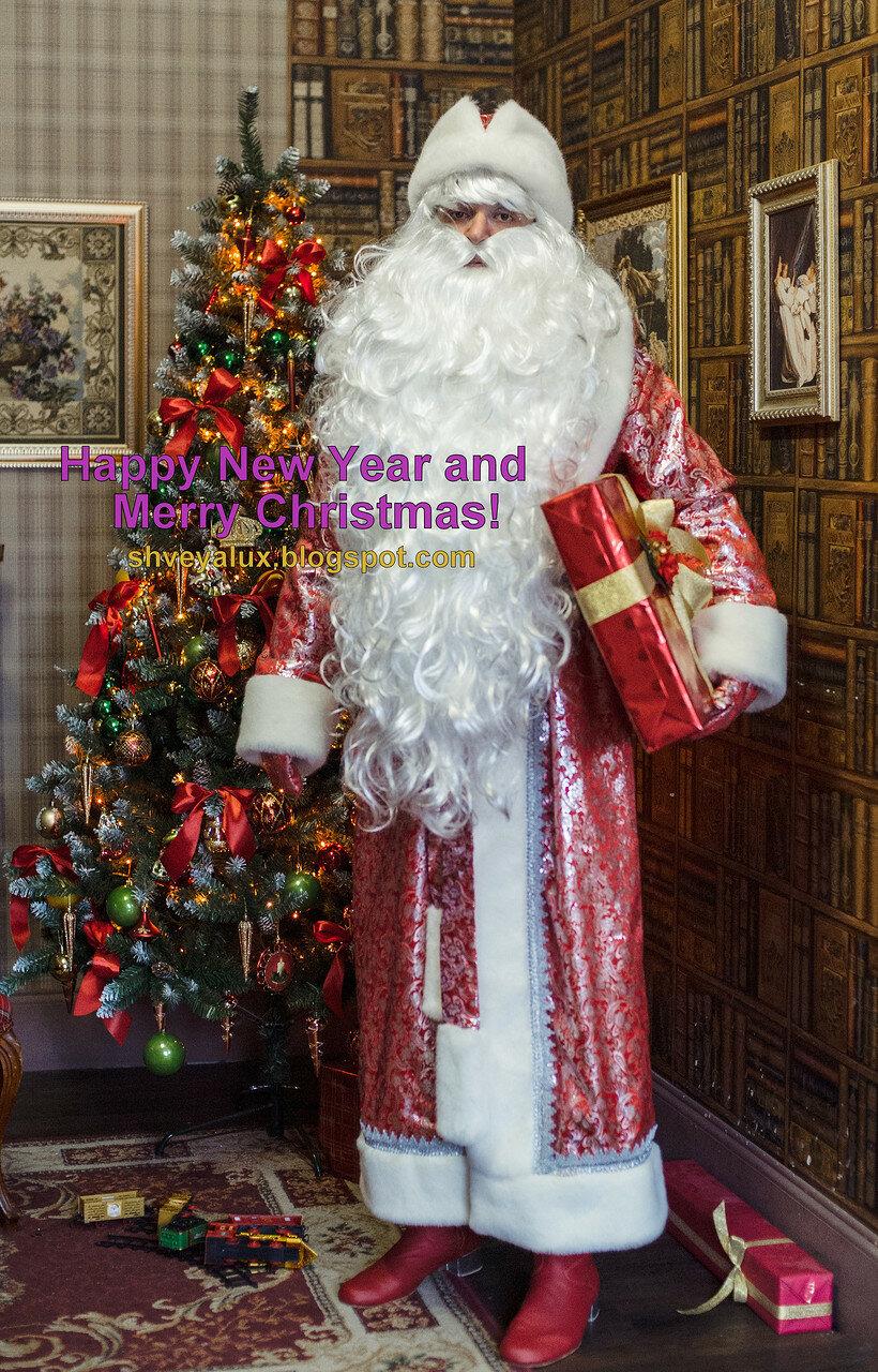 Дед мороз дарит подарок ребенок 38