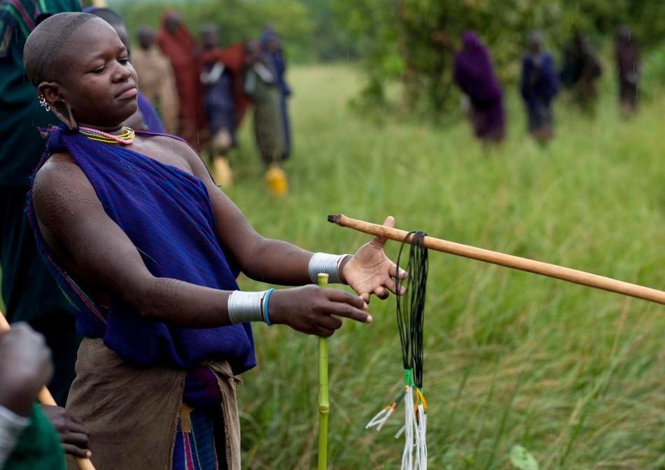 Палочные бои в Эфиопии