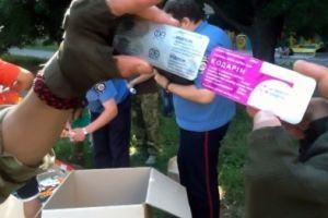Правосекторівці и ультрас провели пресс-конференцию по борьбе с наркоторговлей в Харькове