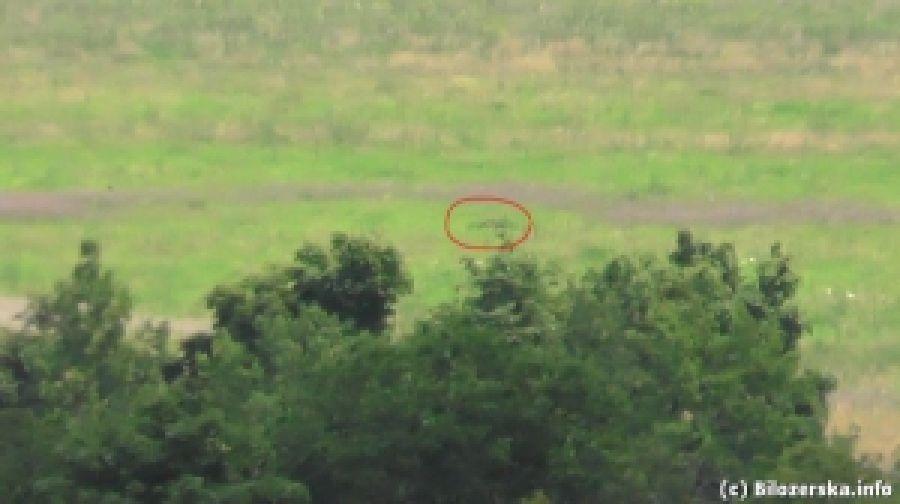 Воины ДУК ПС ловко ликвидировали вражеского снайпера