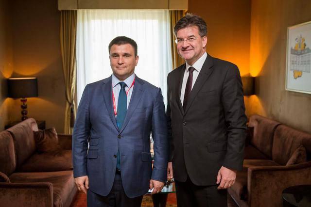 Климкин провел встречу с главой МИД Словакии Лайчаком. ФОТОрепортаж