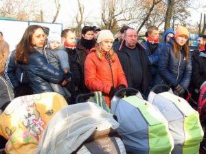 Кировоградские правосекторівці выступили против уничтожения парка