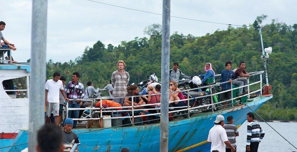 Сулавеси в сентябре 2016