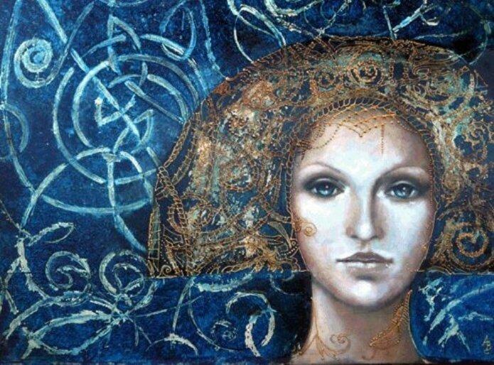 художница Angela Betta Casale