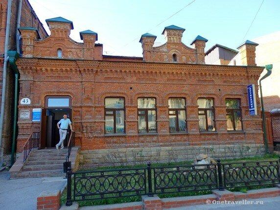 Новосибирск. Дом купчихи Жернаковой