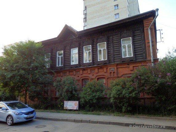 Новосибирск. Дом мещанина Рубцова (Дом Народного Творчества)