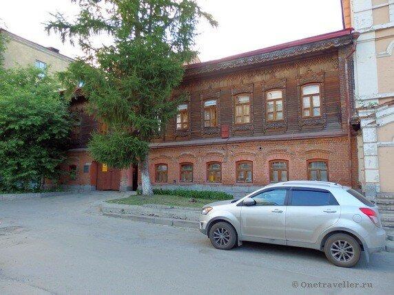 Новосибирск. Жилой дом Куклина