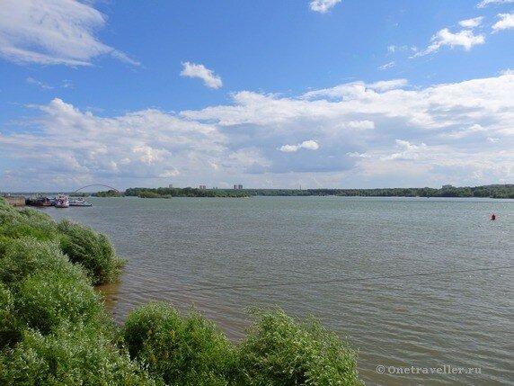 Новосибирск. Река Обь