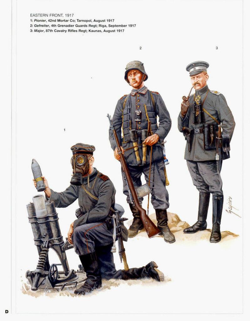Германская униформа Первой мировой