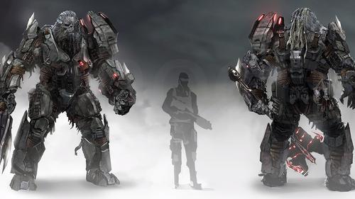 Концепрт арт Атриокса для Halo Wars 2