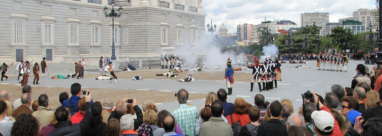 Historical reconstruction of the Madrid uprising of 2 may 1808