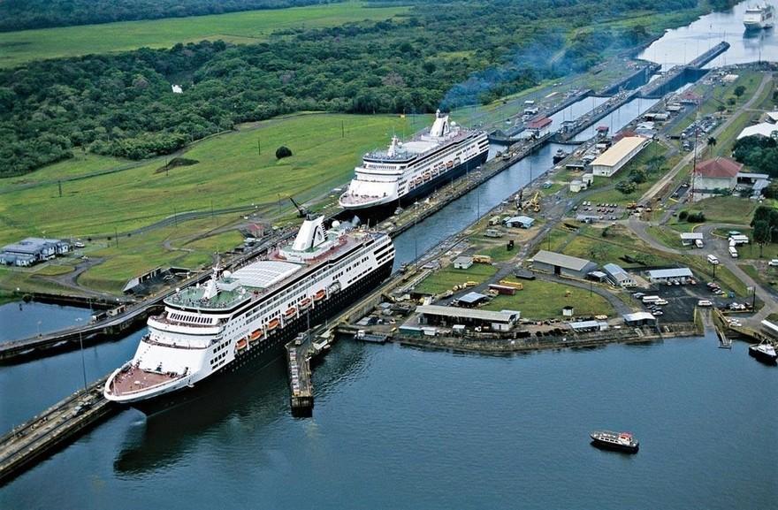20. Самый многолюдный водный путь – Панамский канал Хотя этот водный путь предназначен для перевозки