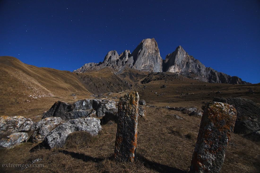 21. Таинственная гора Цей-Лоам, в переводе с ингушского «красивая гора». По легенде ингушей, здесь б