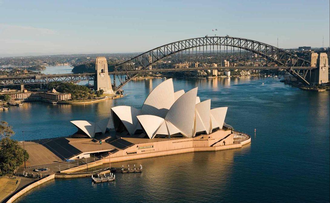 Сиднейский оперный театр и мост Харбор-Бридж