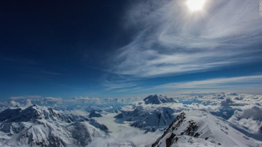 6. Мак-Кинли считается самой высокой горой Северной Америки, ведь она на 900 метров выше горы Фораке
