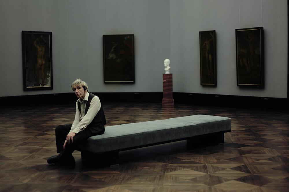 ?Этот кадр был сделан в берлинской Старой национальной галерее. В тот день было мало народу, и мы с