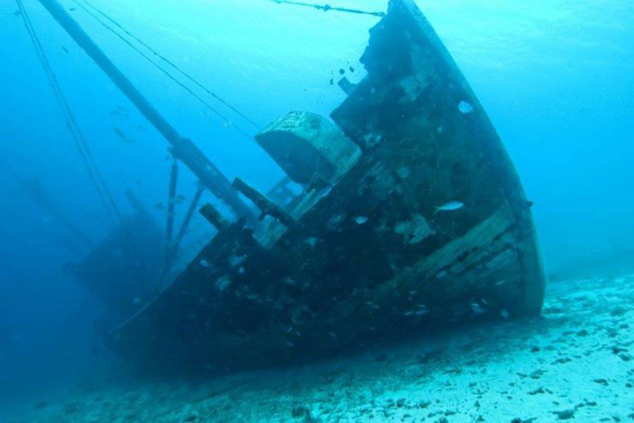 Надне Эгейского моря найдено кладбище старинных кораблей