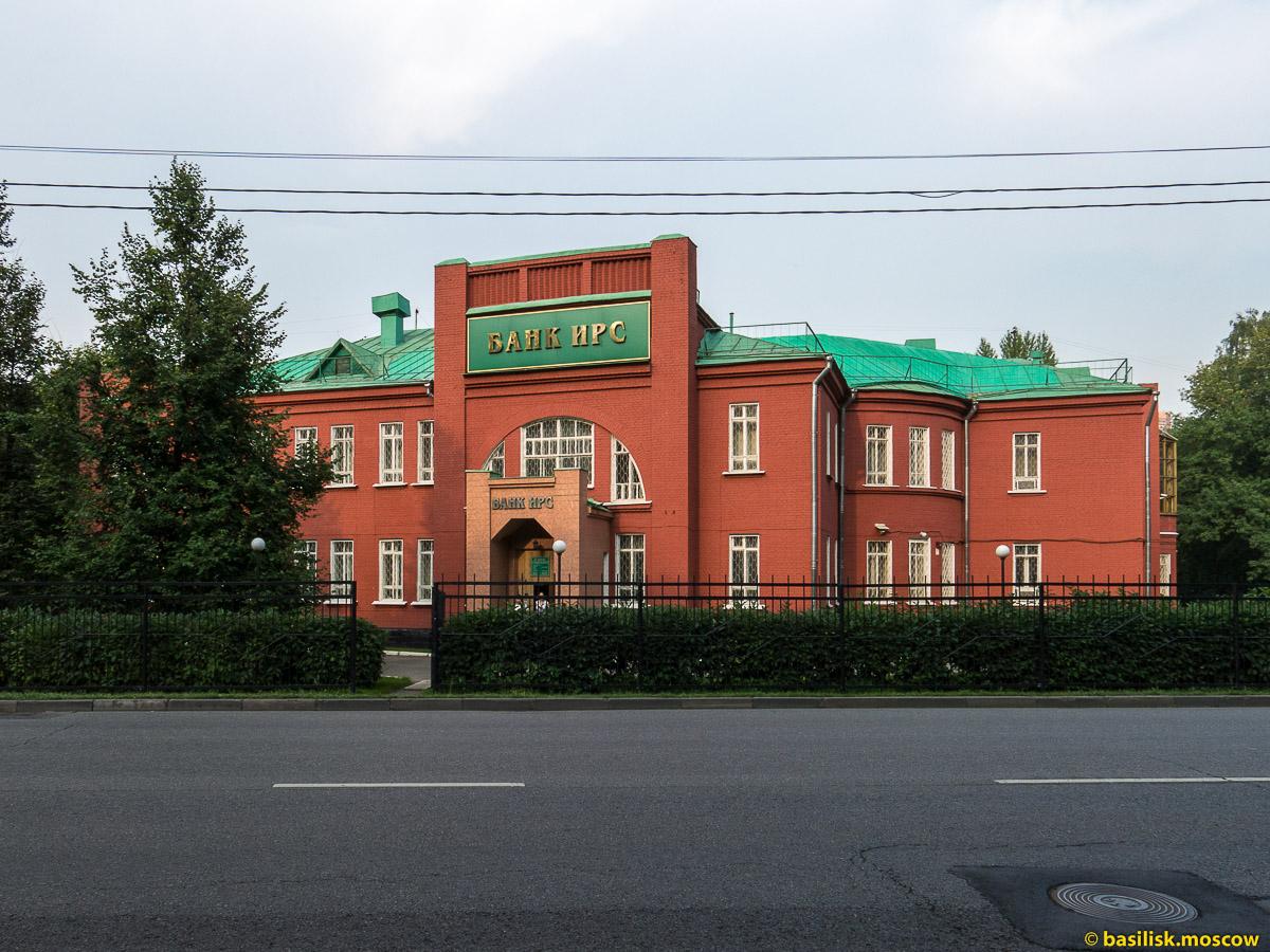 Тимирязевская улица. Москва. Июль 2016