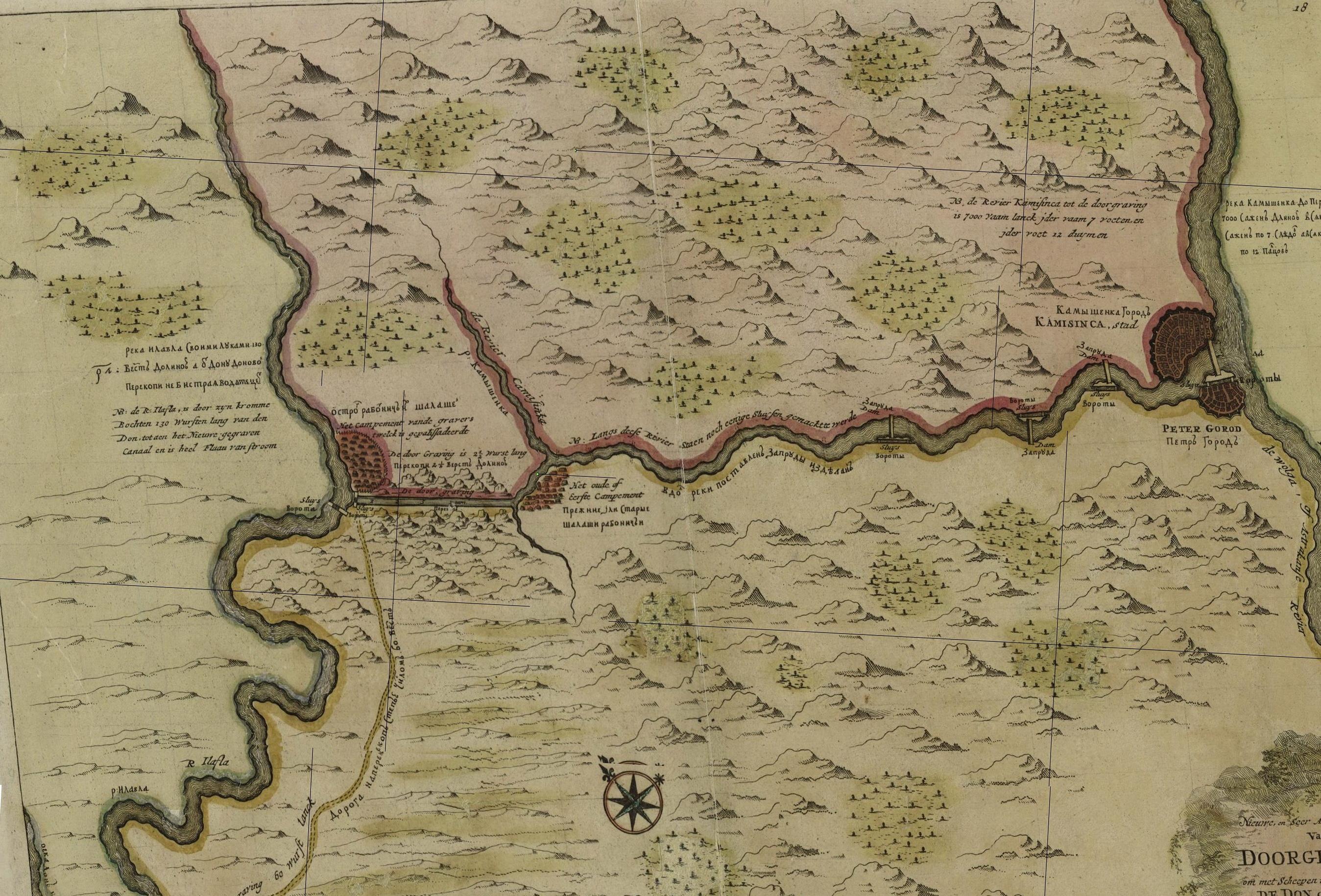 Про то, как турки рыли Волго-Донской канал в 16 веке