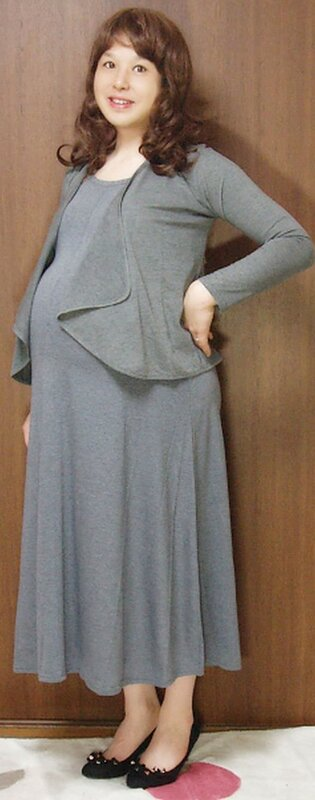 Как сшить большое платье
