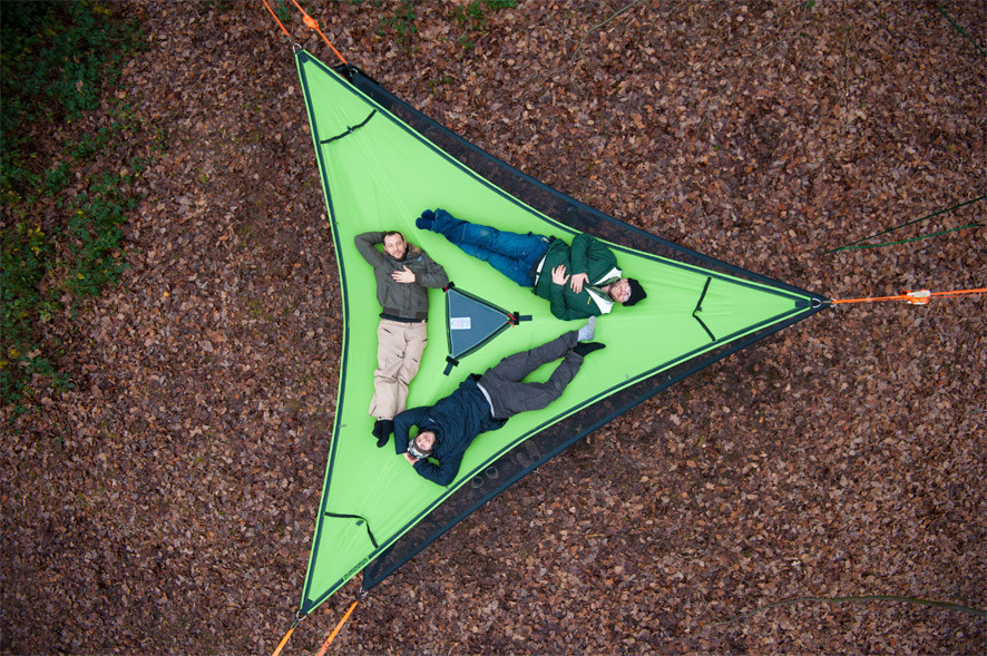 Camp in the Air: New Suspended Treehouse Tents and Hammocks Designed by Tentsile
