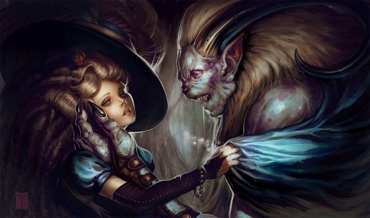 Top Fantasy Illustrations by Tyler James