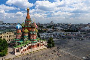 Необычный вид на Покровский собор