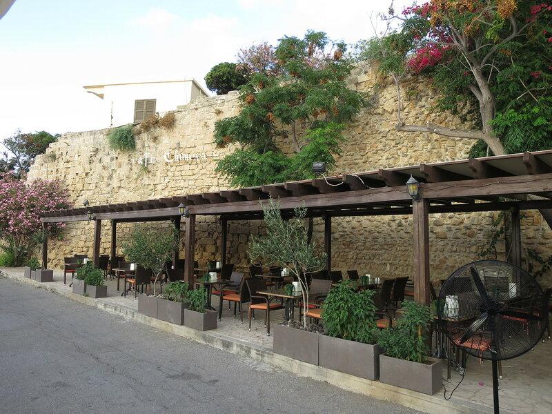 Кирения. Фрагмент городской стены