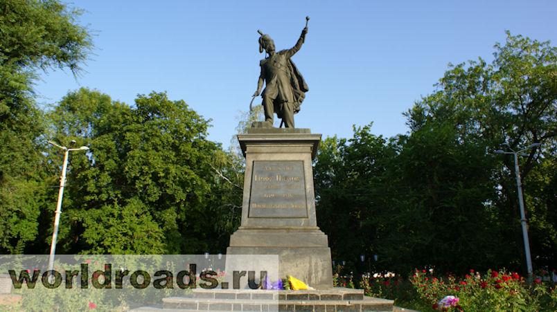 Памятник Платову Новочеркасск