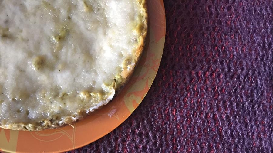 Фальшивый омлет с капустой