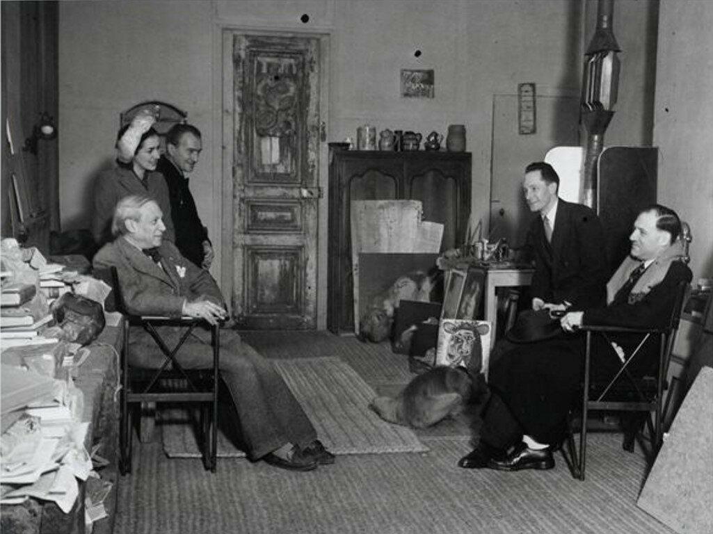 1944. Мастерская Пикассо на улице Великих августинцев