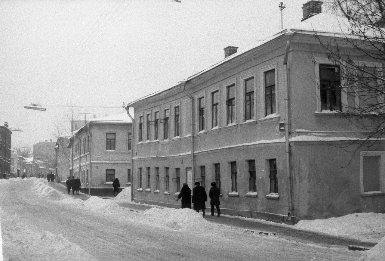1960. Улица Рылеева
